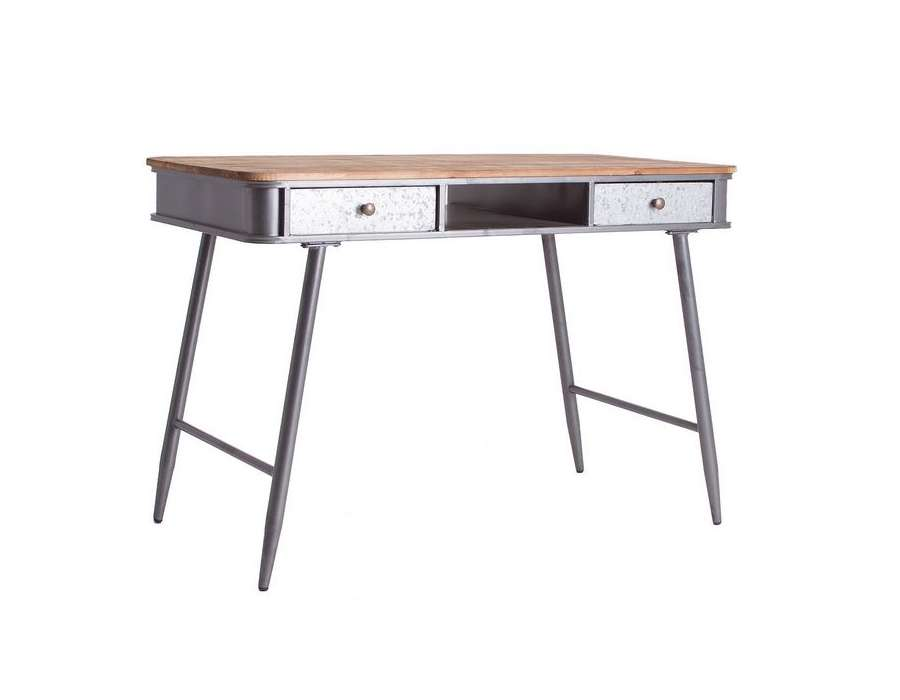 Bureau vintage 2 tiroirs