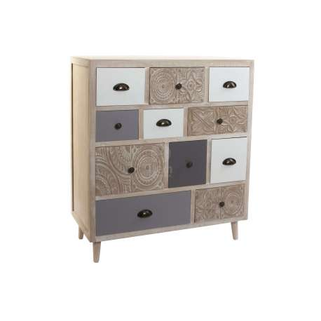 commode scandinave 11 tiroirs sculpt s pas cher. Black Bedroom Furniture Sets. Home Design Ideas