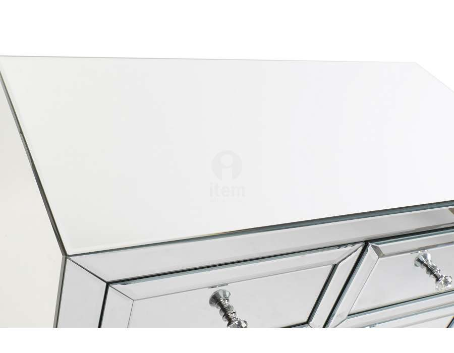 Meuble miroir Art deco 5 tiroirs