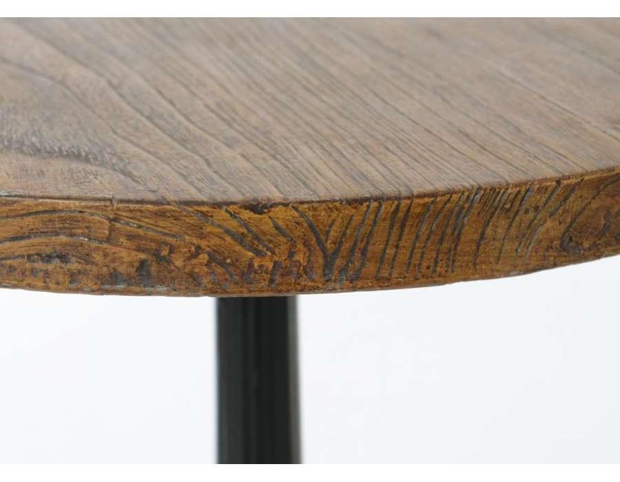 Table de bar ronde bistrot 1 m de haut