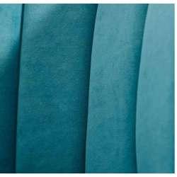 Fauteuil bleu chic Solene