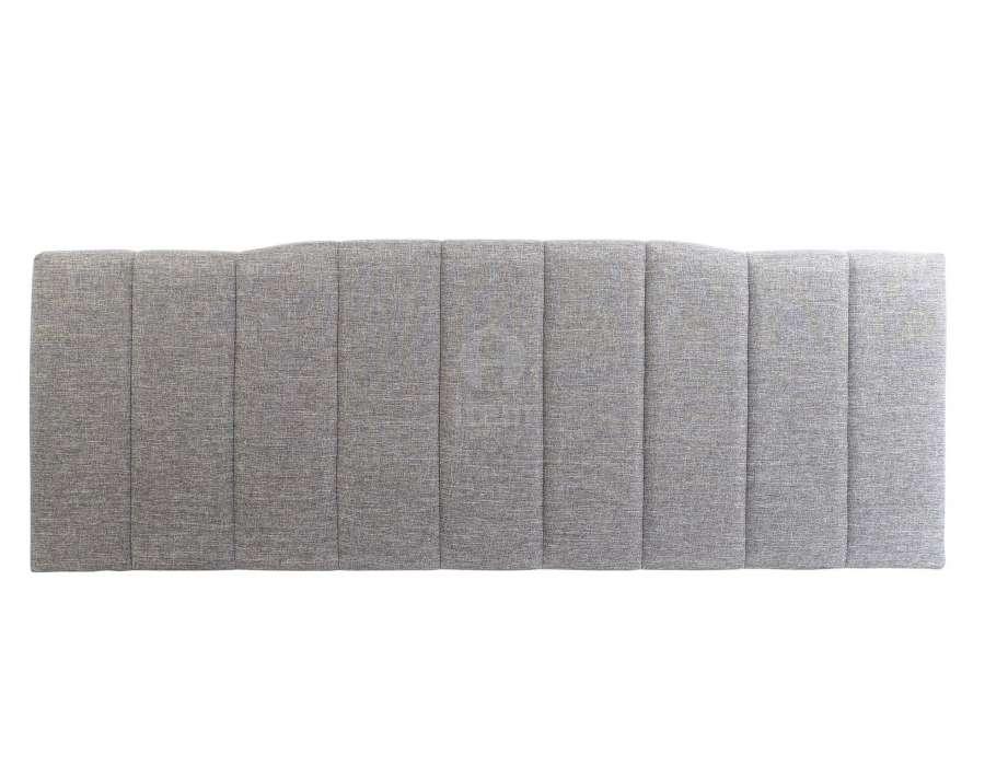 Tête de lit grise chinée 160 cm
