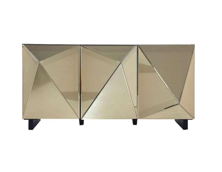 Buffet miroir doré design vical home