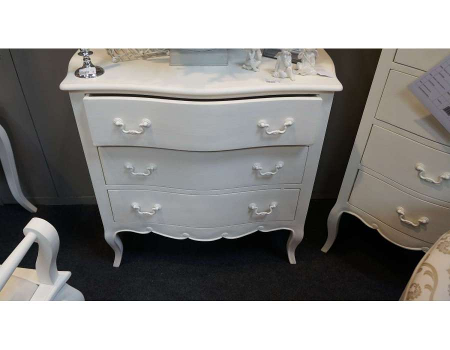 Commode blanche Amadeus 3T