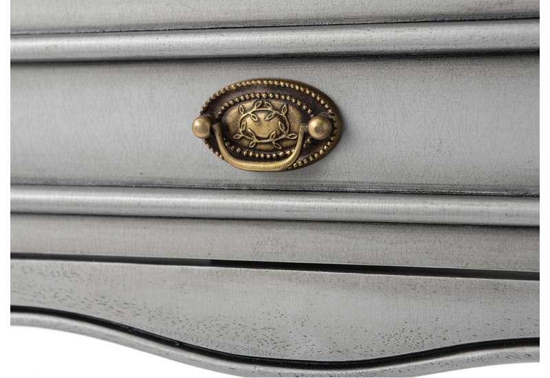 Console Médaillon gris