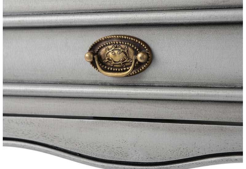 Petite console Médaillon gris