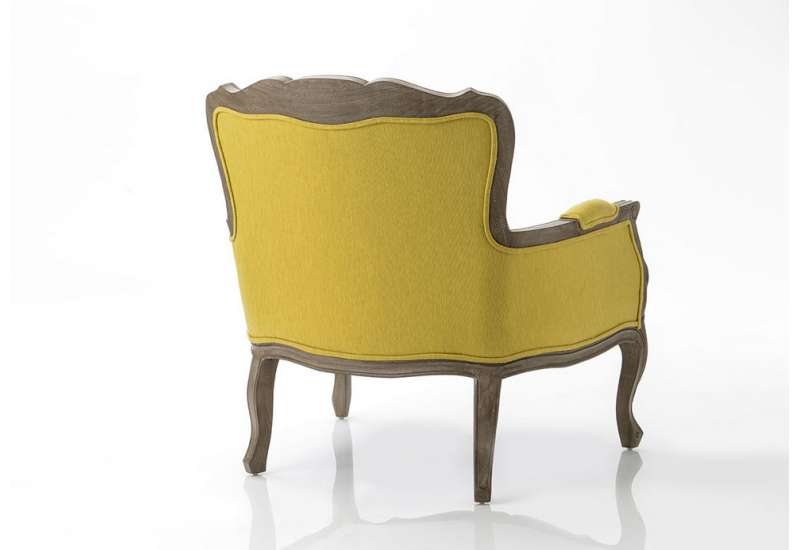 Fauteuil Relax jaune