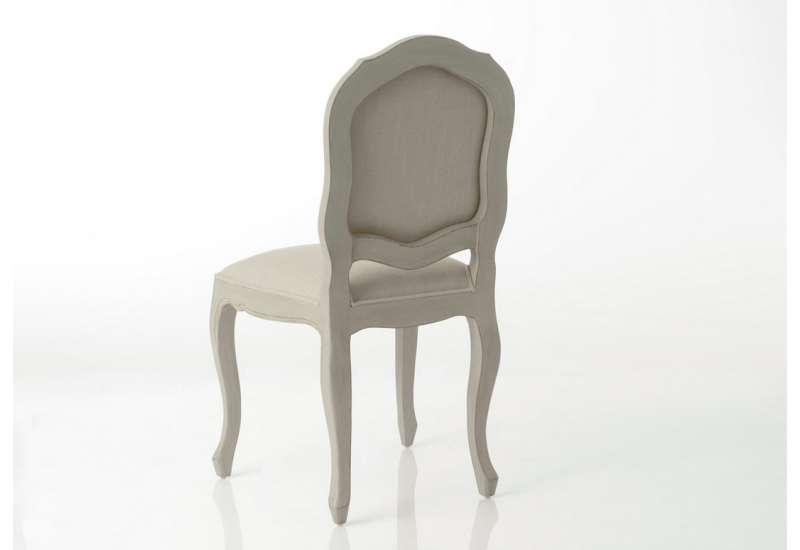 Chaise lin romantique Arbalète