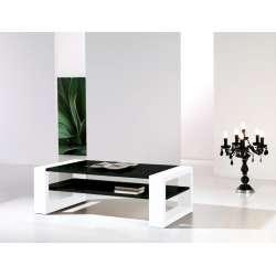 Table basse Laquée bi-color