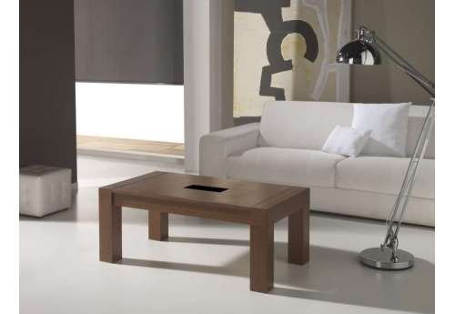 Table basse Relevable chêne