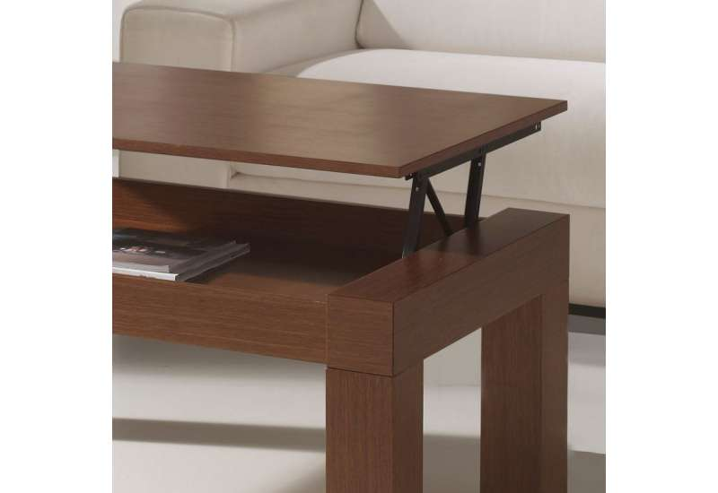 Table basse Relevable chêne