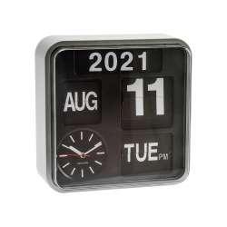 Horloge design Mini Flip Argent