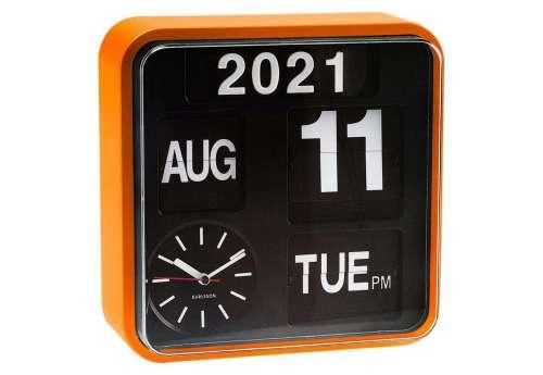 Horloge design Mini Flip orange