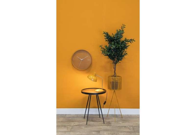 Lampe à poser Hood métal mat jaune