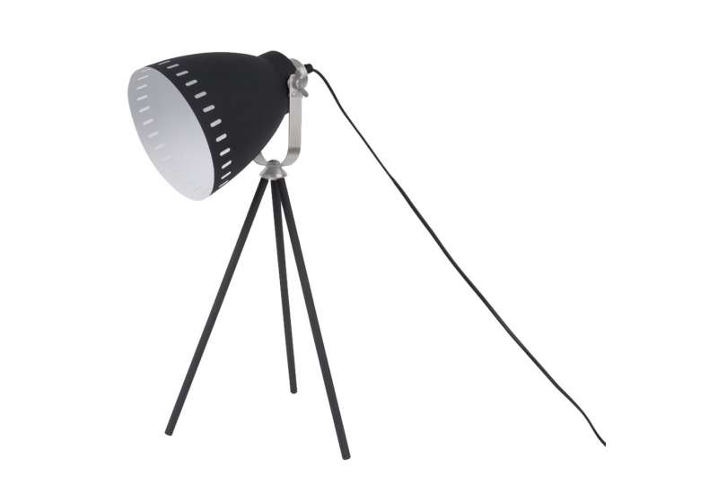 Lampe à poser Mingle mat noire