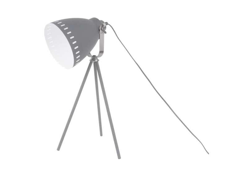 Lampe à poser Mingle mat gris