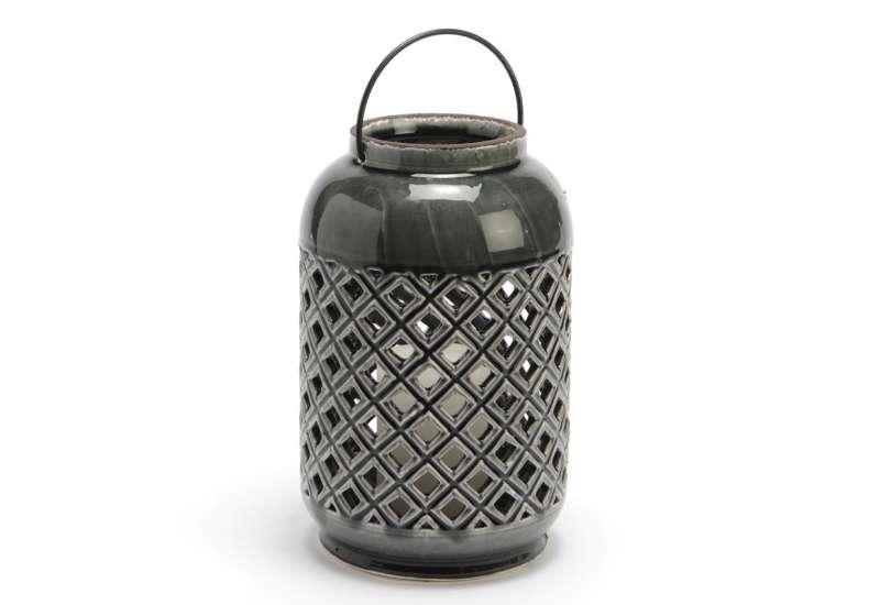 Lanterne Lumière gris anthracite