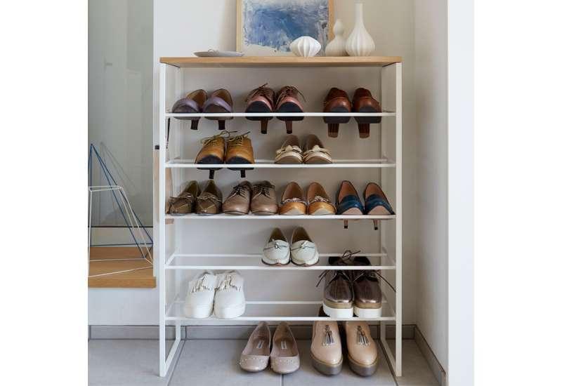 Rangement pour chaussures blanc