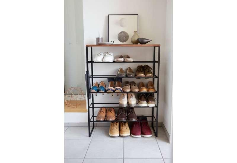 Rangement pour chaussures noir