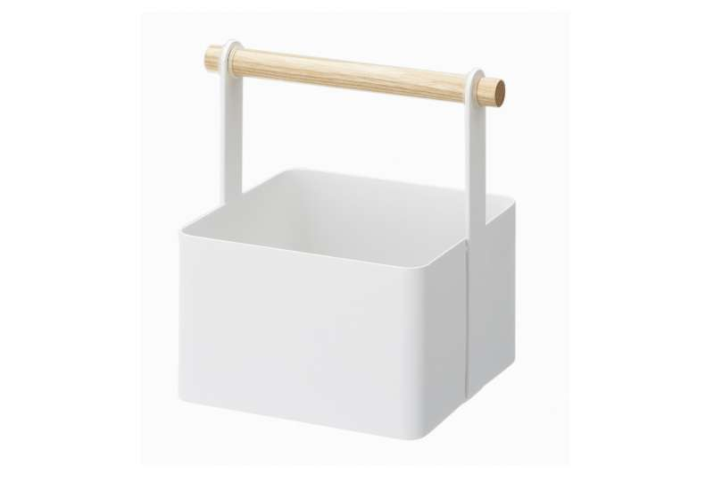 Boîte de rangement blanche Tosca