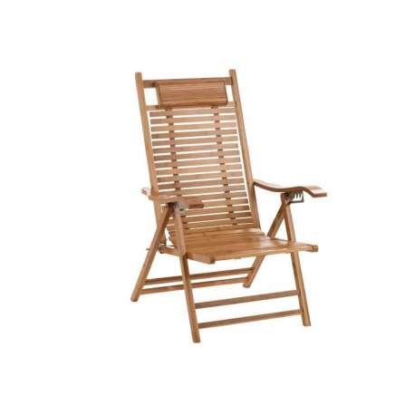 Chaise Longue Pliable Bambou
