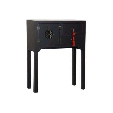 Petite console orientale noire