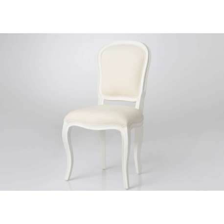 Chaise ecrue murano
