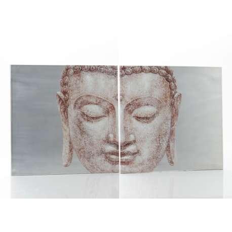 Set de 2 toiles Zen Amadeus
