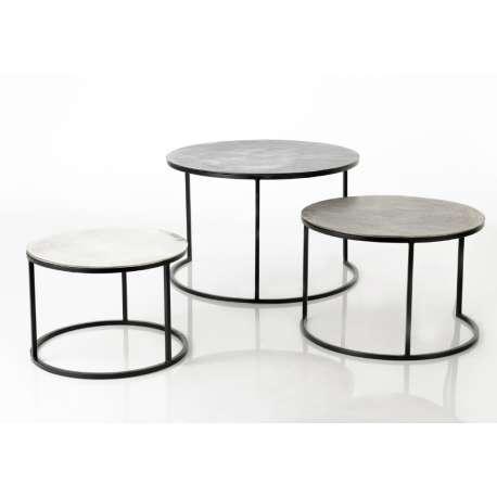 Set de 3 tables basses gigognes Fonte Amadeus