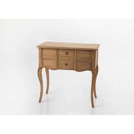 Commode Loire 2 tiroirs naturel Amadeus