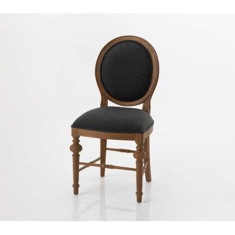 Chaise classique Seine grise Amadeus