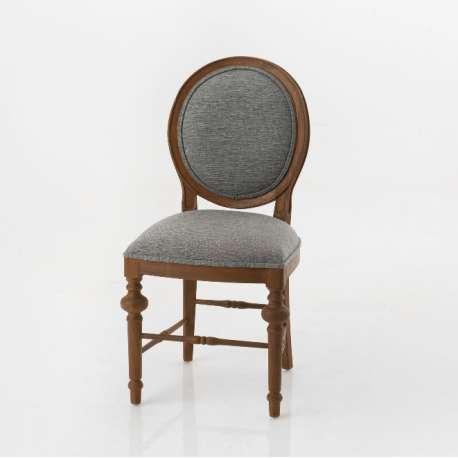 Chaise classique Seine gris clair Amadeus