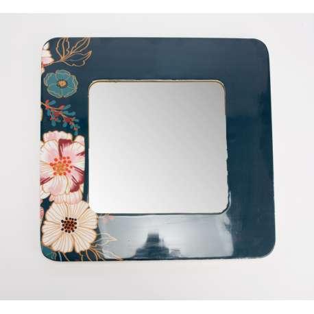 Miroir carré Floral Amadeus