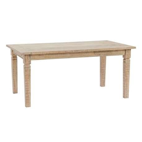Table à manger extensible en bois massif