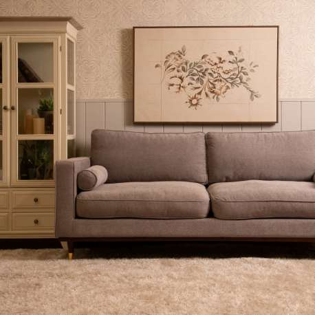 Canapé scandinave 3 places gris