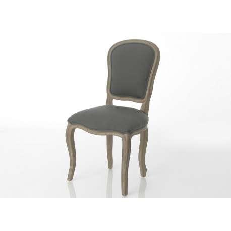 Chaise Baroque bois gris Amadeus