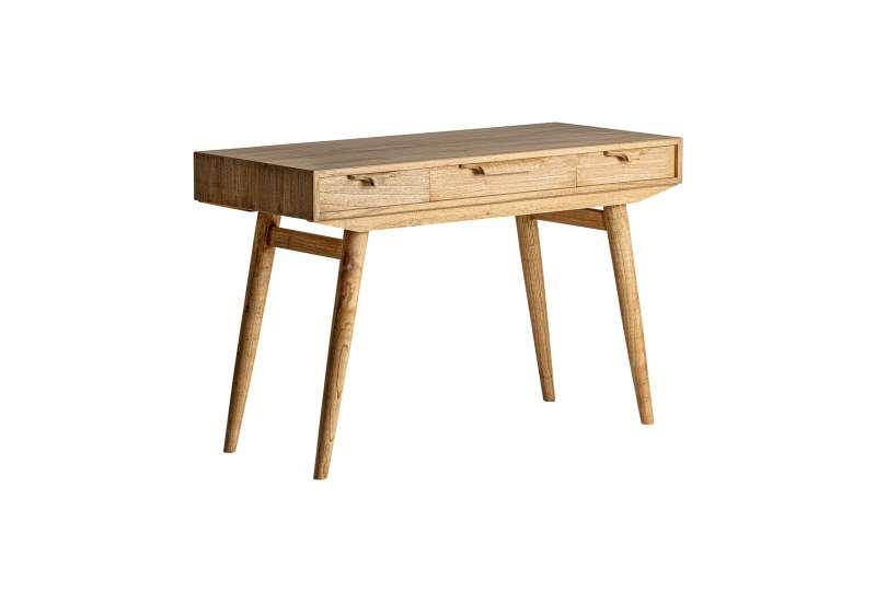 Bureau rétro en bois robuste Vical home