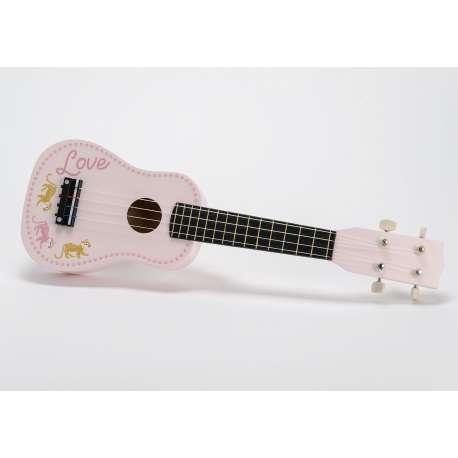 Guitare rose Amadeus