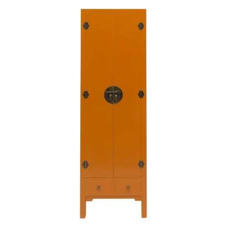 Armoire ocre 2 portes chine