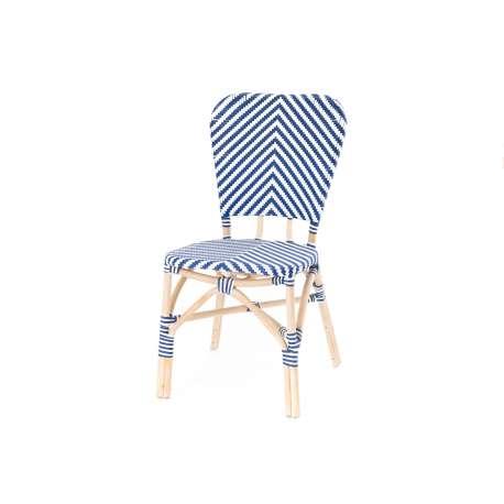 Chaise bistrot bleu Amadeus