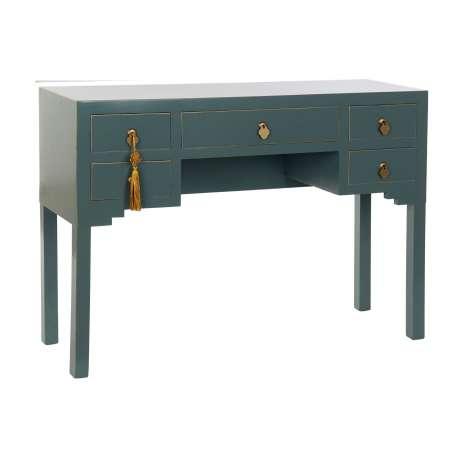 Bureau Oriental 5 tiroirs Jade