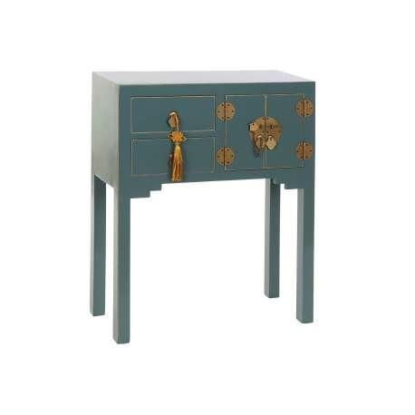 Console orientale 5 tiroirs Jade
