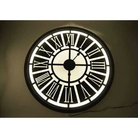 Horloge Indus rétro-éclairée
