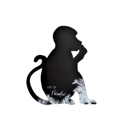 Tableau singe noir