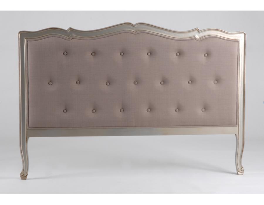 Tête de lit Amadeus gamme Murano argentée