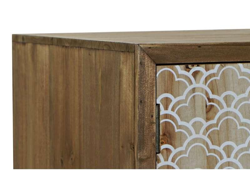 Meuble TV en bois MAYA en bois impression ethniques