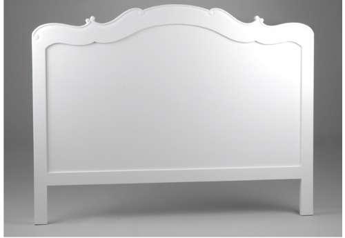 Tête de lit Amadeus 160cm couleur blanche gamme Appoline