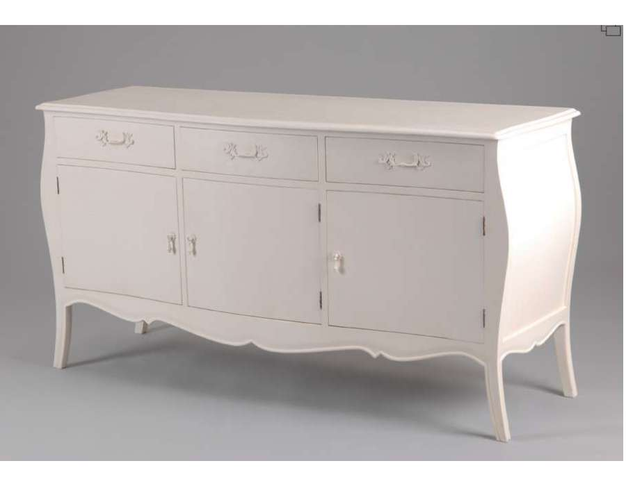 buffet amadeus cr me 3 portes. Black Bedroom Furniture Sets. Home Design Ideas