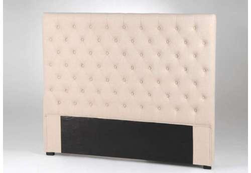 Tête de lit 160 cm Amadeus capitonnée lin