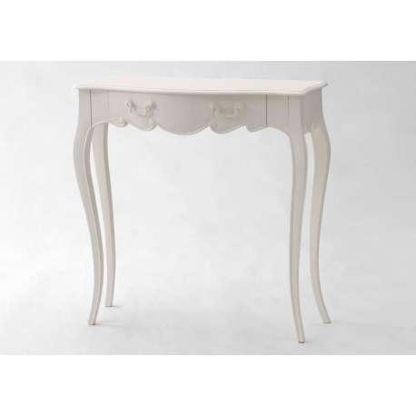 meuble console blanche id al pour une entr e romantique. Black Bedroom Furniture Sets. Home Design Ideas